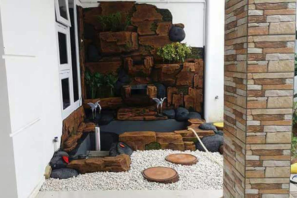 Kolam tebing barokah garden